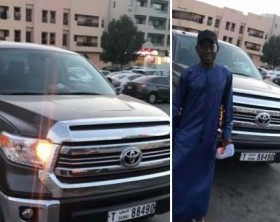 SK Mbuga has acquired a Toyota Tundra