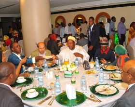 Sheraton Kampala Hotel hosted their Muslim clients to a mouthwatering dinner as they kicked off the month of Ramadan.
