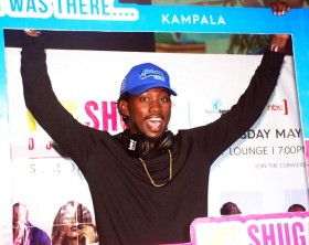 Gospel singer Levixone at the MTV Shuga Season Five official premiere in Uganda