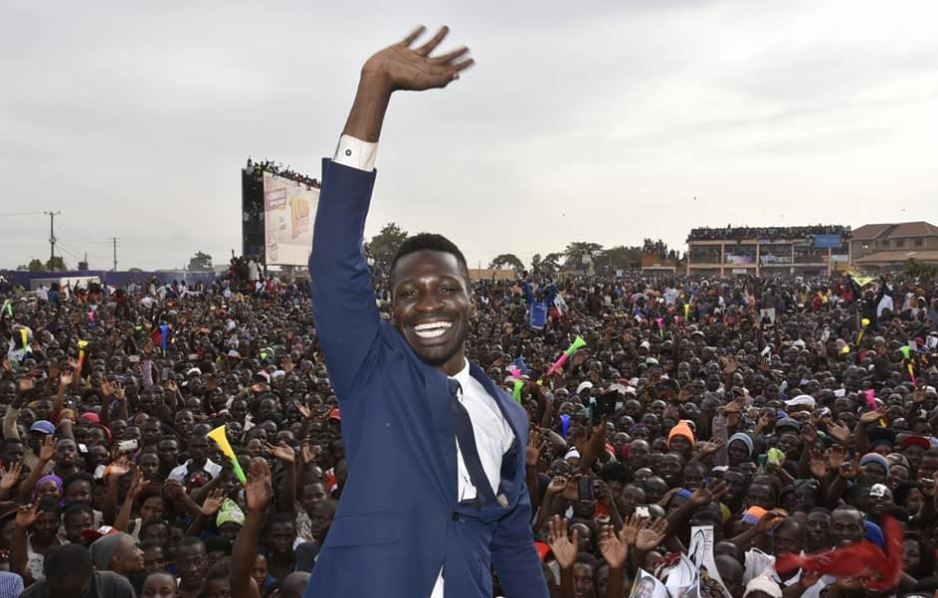 Bobi Wine final rally in Gayaza
