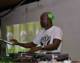 DJ Tumz at Rock and Rolex experience at Legends Bar