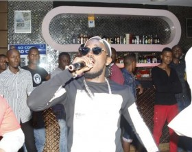 Ykee Benda performs at Club Ambiance Fresher's Ball