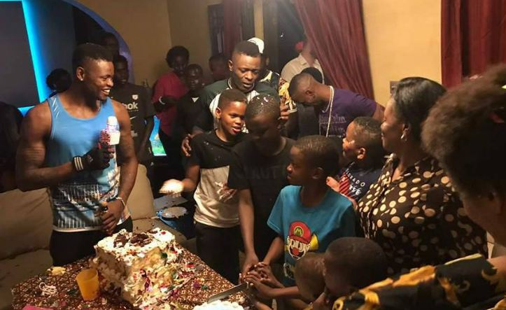 Chameleone holds birthday party for his sons, Abba Marcus Mayanja and Alpha Joseph Mayanja