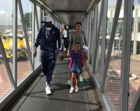 Jose Chameleone and his family off to Dubai