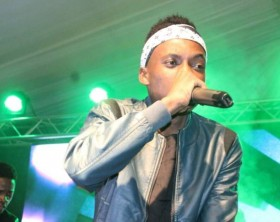 Latinum performs at Club Dome held at International University of East Africa(IUEA)