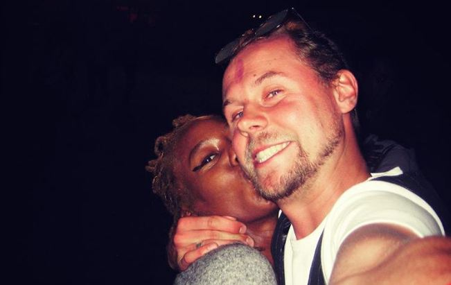 Sauti Sol's manager, Marek Fuchs and his wife Annabel Onyango