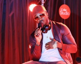 Bebe Cool shares his Coke Studio experience with guest during the Coke Studio Africa launch event