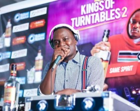 "DJ Aludah at a previous edition of ""King of Turntables"""