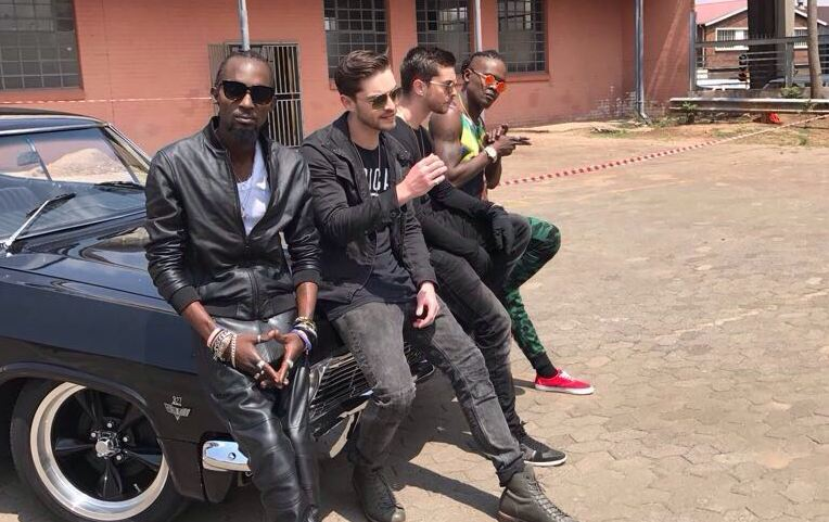 Radio and Weasel in collabo with South African music duo Locnville