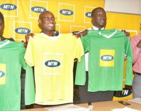 MTN Uganda has unveiled its Grassroots Football Development Program where it will support local football teams countrywide with kits.