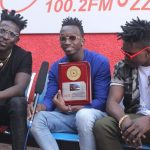 """Galaxy FM has honoured singers B2c for their smash hit song """"Gutamiza"""", on which they collaborated with Radio and Weasle."""