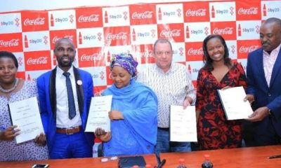 Coca-Cola Beverages Africa (CCBA) Uganda has signed an MOU with REHORE, a local NGO that will see over 10,000 women refugees in Bidi bidi, Kiryandongo and Nakivale camps