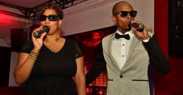 Crystal Newman and Alex Muhangi