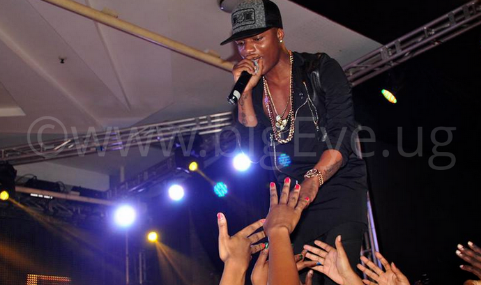 Wizkid performs at Guinness VIP Black party