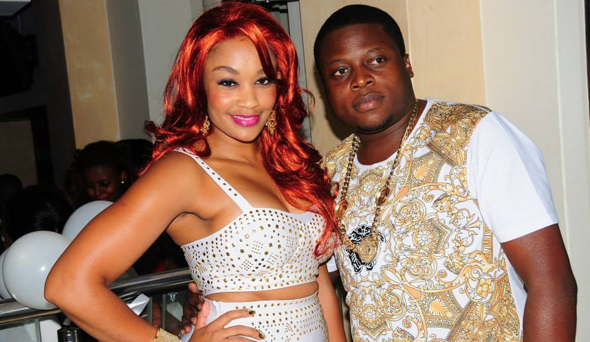 Zari and Ivan Ssemwanga