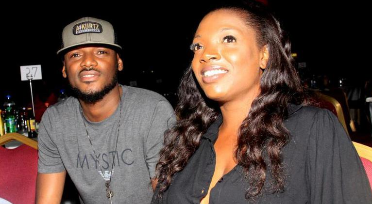 2Face Idibia with wife Annie Idibia