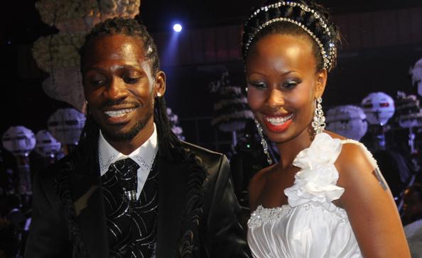 Bobi Wine and wife Barbie
