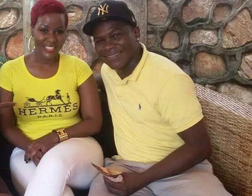 Desire Luzinda and Tanzanian businessman Pemba