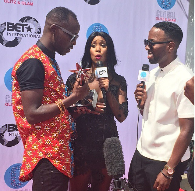 Interview video of Eddy Kenzo at BET Awards