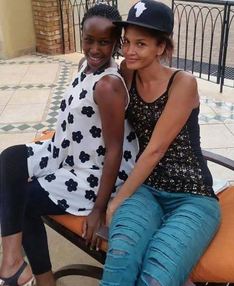 Photo: Bobi and Chameleone's wives spend time together