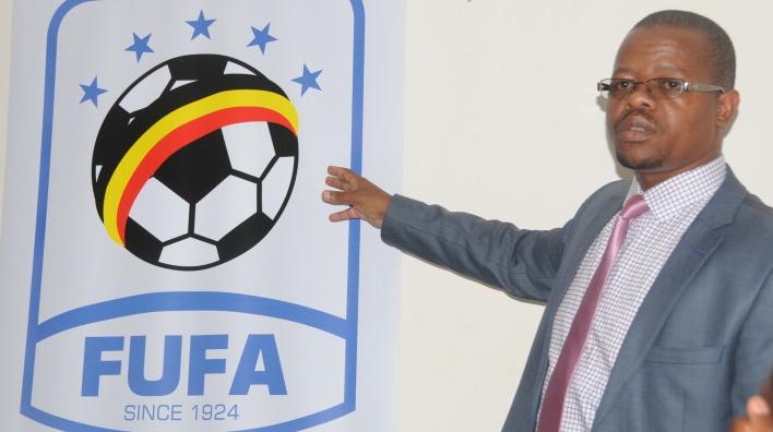 FUFA President Eng. Moses Magogo