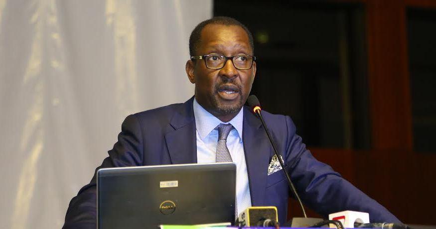 NSSF Managing Director Richard Byarugaba