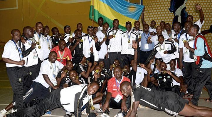 Rwanda team East African military games