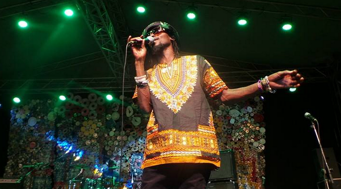 Radio and Weasel perform at the Bayimba Festival.