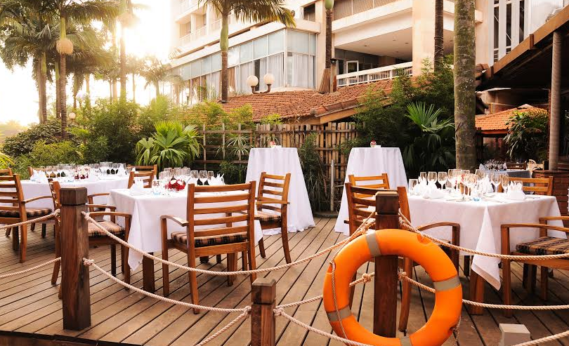 Seven Seas Restaurant at Sheraton Hotel Kampala