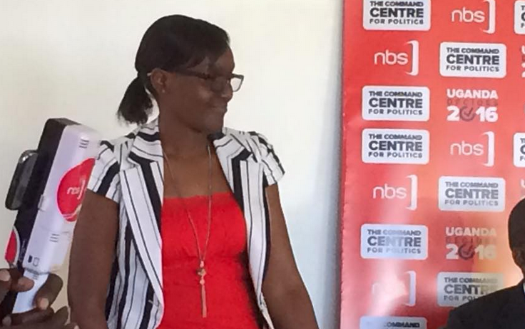 Rukh-Shana Namuyimba officially unveiled as NBS TV employee