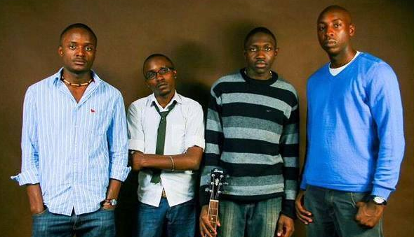 Sauti Sol throwback photo