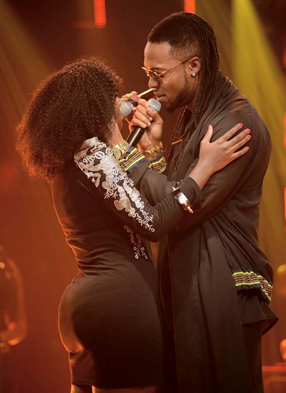Juliana Kanyomozi and Mr. Flavour
