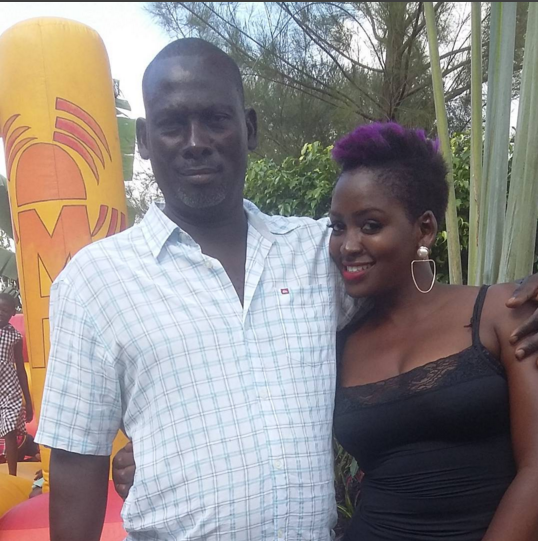 Winnie Nwagi's dad