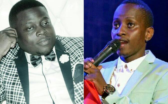 MC Kats and Ivan Ssemwanga