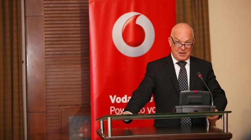Allan Richardson, the chief executive officer Vodafone Uganda