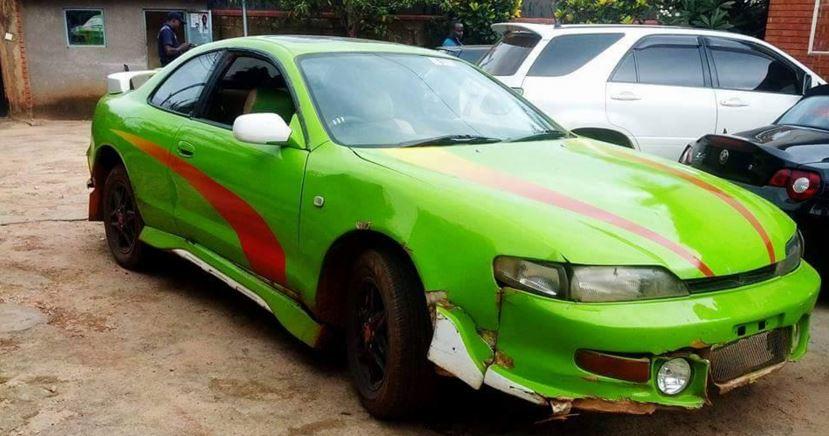 Amooti's car