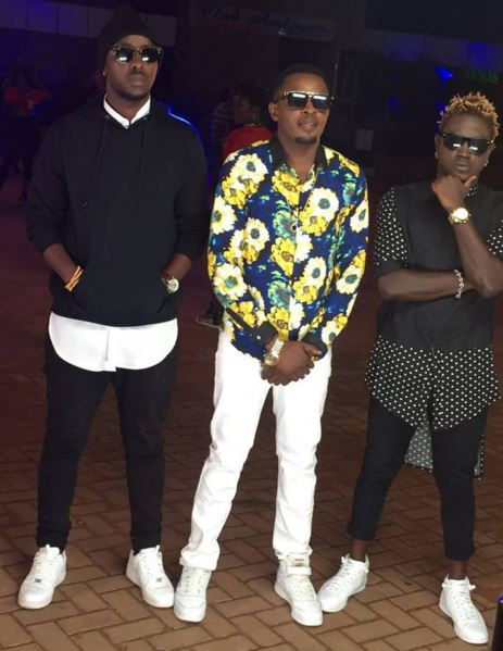 Eddy Kenzo, Gravity Omutujju and DJ Shiru are said to be working on a song together