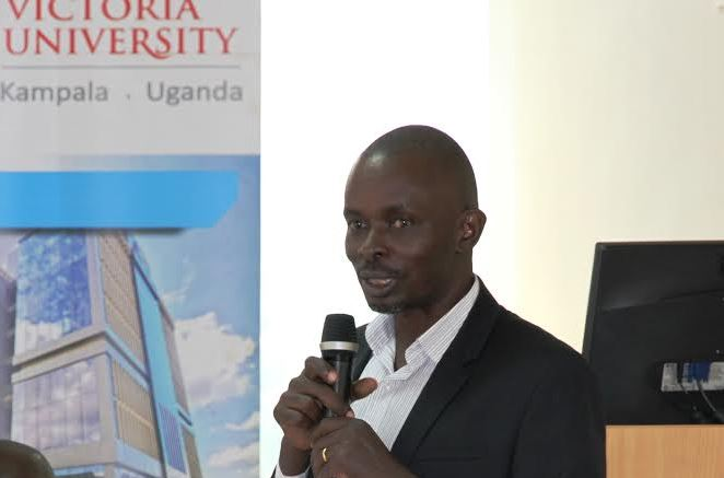 Mr. David Kasimbazi, Victoria University's Project Coordinator for Center for Urban Governance & Development