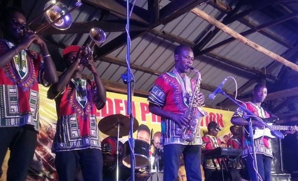 Golden Band performs in Mbarara