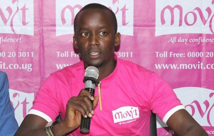 Brand Manager Movit Products Limited, Don Murungi speaking at the launch of the new campaign