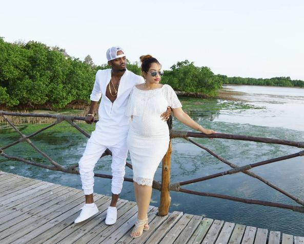 Zari and Diamond Platnumz photo shoot