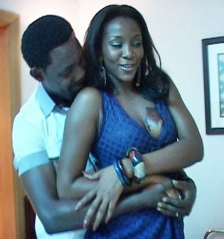 Genevieve Nnaji and AY Makun