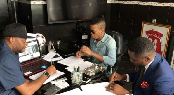 Tekno signs Sony Music deal