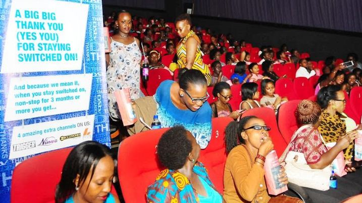 DStv Female Subscribers were treated to a movie at Century Cinemax courtesy of DStv Uganda to commemorate Women's Day.