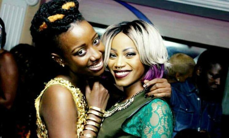 Lydia jazmine and Sheebah Karungi