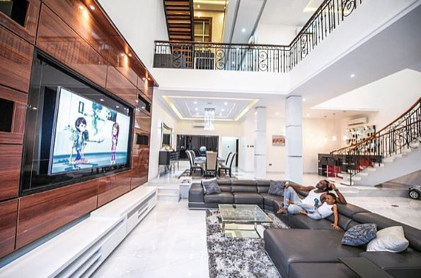 Photos P Square Show Off Their Palatial Home