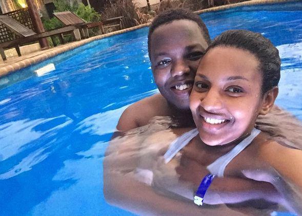 Photos: Tanzanian musician A.Y shows off hot girlfriend