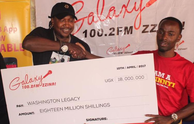 Galaxy FM injects 18 million shillings in producer Washington's concert