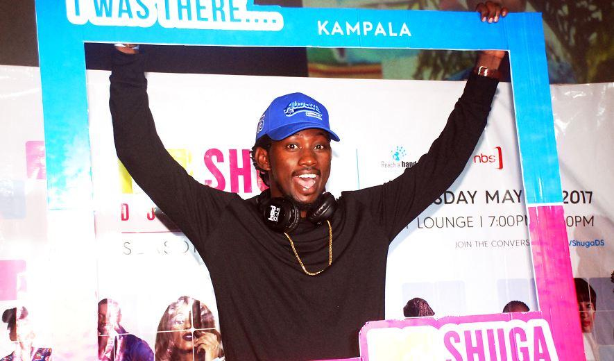 Gospel singer Levixone at the MTV Shuga Season Five official premiere in Uganda