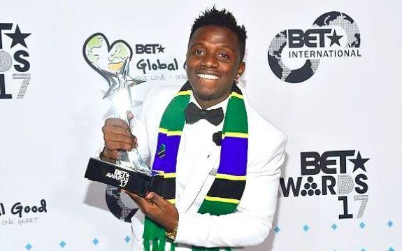 Tanzanian singer Rayvanny wins BET Award